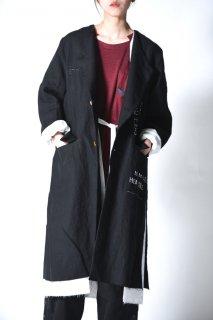 Leh Not Traditional 3Layered Coat black