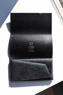 所作 LONG WALLET limited (Nuback Black)