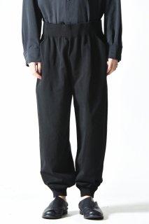 crepuscule whole garment pants / black