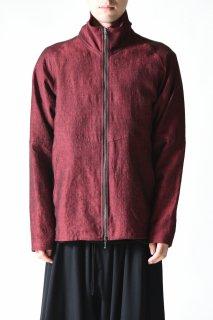 YANTOR Linenwool Track Jacket red