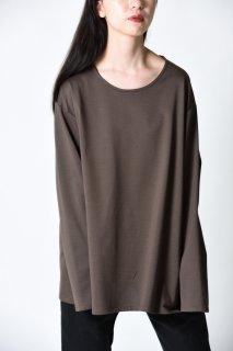BISHOOL Cotton 01 Long Sleeve Cut Sew Khaki Brown