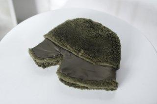 KAIKI ムートンロシアン帽 khaki