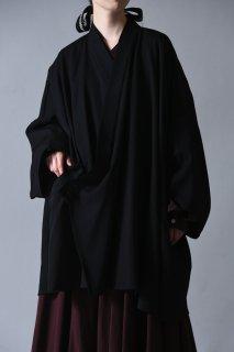 BISHOOL Wool Gabardine KIMONO Drape Haori