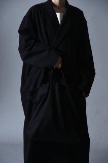 BISHOOL Wool Gabardine Shoulder Bag