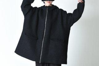 BISHOOL Tweed Hood Big Jacket