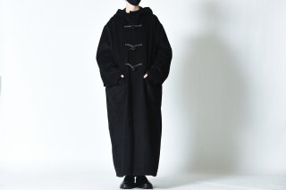 BISHOOL Angola Wool Over Duffle Coat