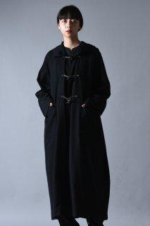 BISHOOL Wool Gabardine Over Duffle Coat