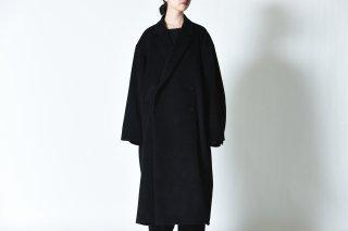 BISHOOL Angola Wool Double Long Coat