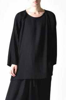 BISHOOL pleats big pullover