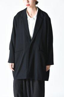 BISHOOL Wool Gabardine Single Jacket