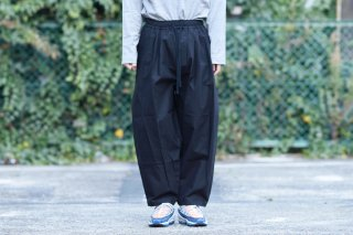 My Beautiful Landlet Bafu Cottonコクーンビッグパンツ OVIE STUDIO limited black