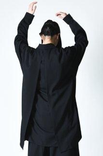 BISHOOL Wool Gabardine Liberty Big Shirt