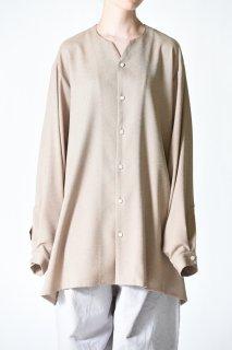 BISHOOL 01 Rapel Big Shirt beige