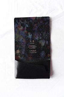 所作 CARD CASE Black×Cosmic