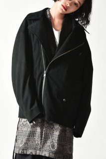 Edwina Horl MOTORRAD JACKE <GETEILTER ATEM> black
