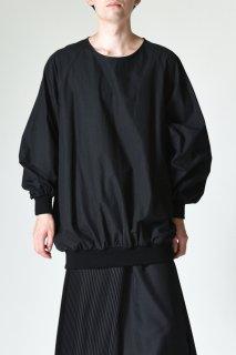 BISHOOL Old Cotton Rib Big Pullover