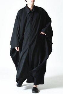 BISHOOL Wool Gabardine Over Mantle Coat