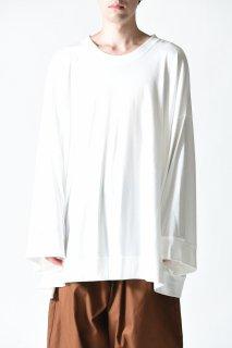BISHOOL The Classic  L/S Cut Sew white