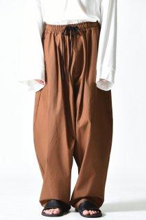 My Beautiful Landlet コクーンビッグパンツ OVIE STUDIO limited brown