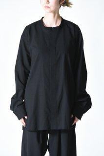 YANTOR Torowool Fly Front Shirt Black