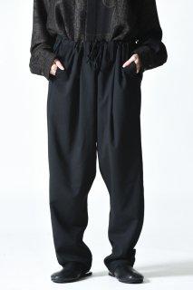 YANTOR Torowool Tie Pants Black