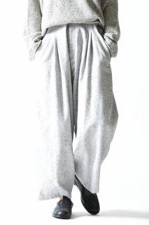YANTOR  Stone Nep 2 Tuck Wide Pants