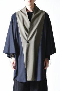 YANTOR Torowool Bi-color kesa coat
