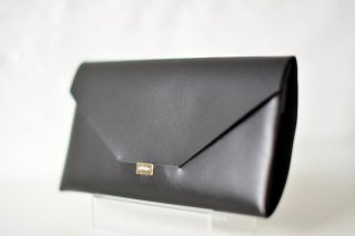 所作 LONG WALLET envelope (black)
