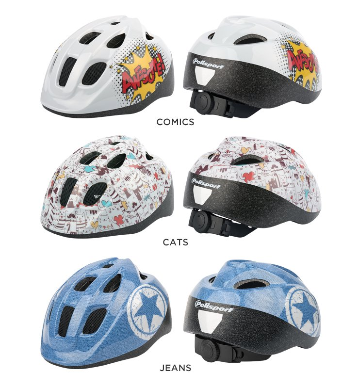 Polisport  S JUNIOR HELMET no.3