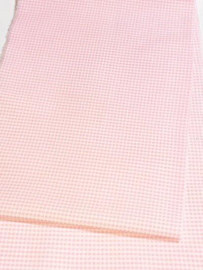 交織 カットクロスの半衿 ギンガムチェック-