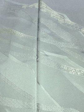 正絹 袷の訪問着 ☆☆☆ 【B/M/W】 (64.5/160/47) 中古 刺繍 一つ紋付