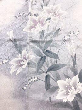 正絹 袷の訪問着 ☆☆☆☆ 【B/S】 (64/147/46) 一つ紋付き 【未使用品】