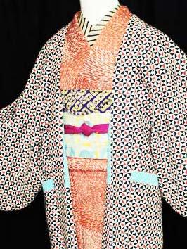 《販売終了》ふだんきもの杏オリジナル「杏コート」Sサイズ 【C/長丈】 (66/90/45) サンカクシカク -