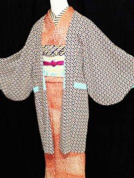 ふだんきもの杏オリジナル「杏コート」Sサイズ 【C/長丈】 (66/90/45) サンカクシカク