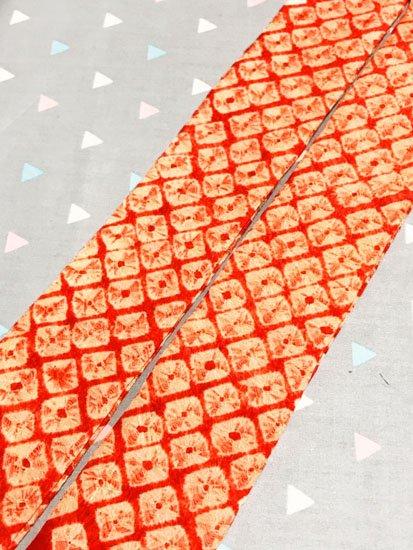杏オリジナル♪[杏'sりぼん] 【リメイク品】 便利なリボンタイプの帯揚げ -1