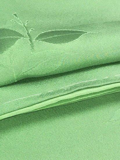 正絹 袷の色無地 ★★★★★ 【C/R】 (66.5/157/47) 【未使用品】-