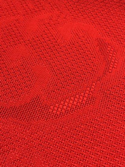 綿 全通柄八寸名古屋帯 ★★★★ 【標準】 (30/359) 荒波 無地 【夏帯】-