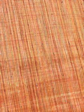 正絹 単衣の紬 ★★★★ 【C/R】 (65/153.5/46.5) やたら縞 中古