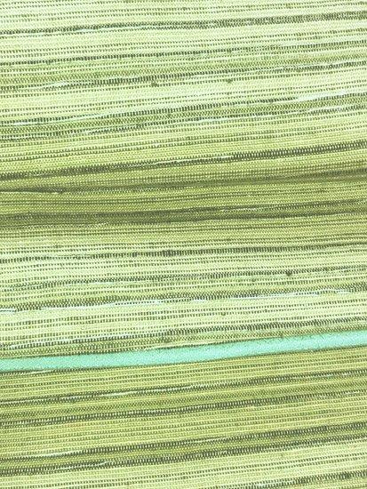 正絹 袷の紬 ★★★★ 【B/R/W】 (63/151.5/45) 横段縞 中古-