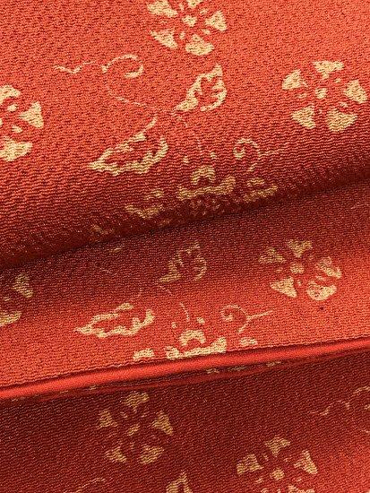 正絹 袷の小紋 ★★★★ 【B/M】 (63.5/160/49) 植物紋-