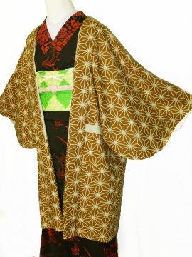 ふだんきもの杏オリジナル「杏コート」Mサイズ 【D/長丈】 (67/96/45) 麻の葉