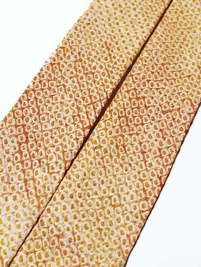杏オリジナル♪[杏'sりぼん] 【リメイク品】 便利なリボンタイプの帯揚げ -