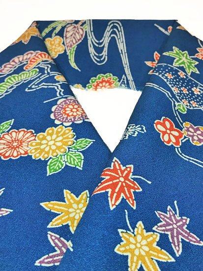 正絹 ハギレの半衿 型染 古典柄-1