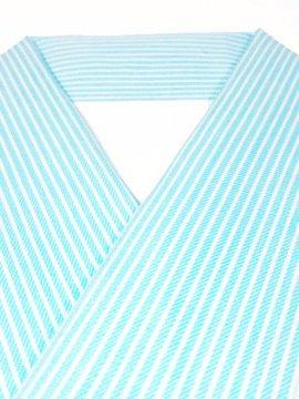 綿 カットクロスの半衿 縦縞