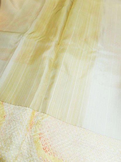交織 羽織 ★★★★★ 【D/長丈】 (69.5/87.5/48) 梅 絞り風 【未使用品】-
