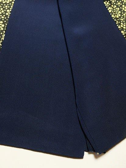 正絹 袷の小紋 ★★★ 【A/R】 (62/155/46.5) キラキラモチーフ 中古-