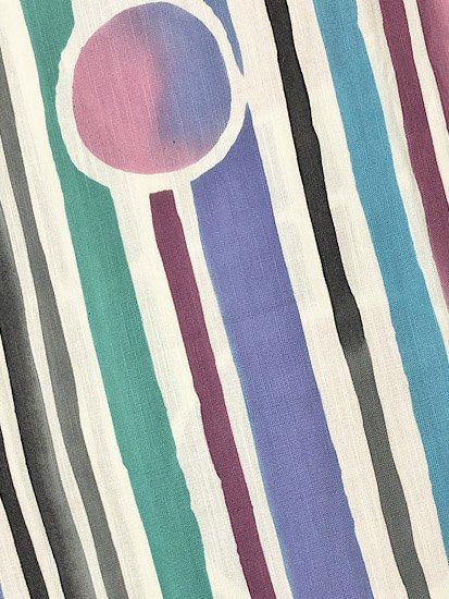 綿 新品浴衣 ★★★★★ 【D/L/W】(69/165/49) ストライプ 水玉 【ツモリチサト】-