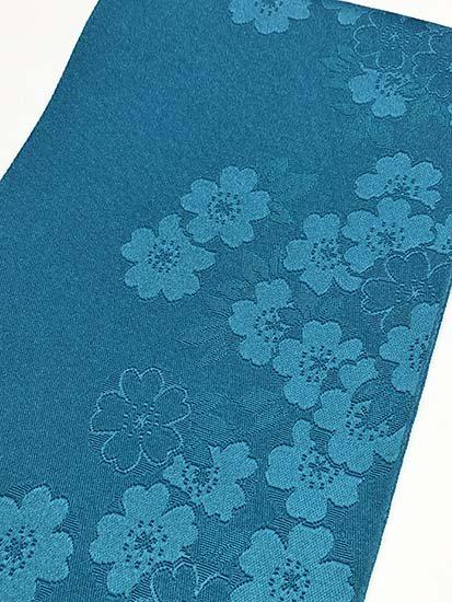 化繊 新品浴衣帯 ★★★★★ 【標準】 (17/350) 桜-1