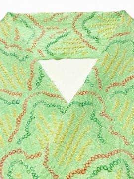 正絹 ハギレの半衿 絞り