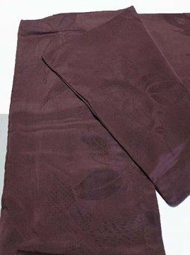 正絹 単衣の色無地 ★★★ 【A/S】 (62/149/46) 植物紋 中古